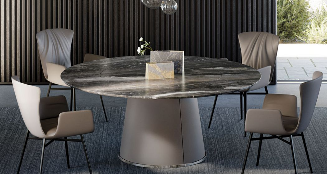 Draenert Table de repas ronde Tables de repas Tables & divers   