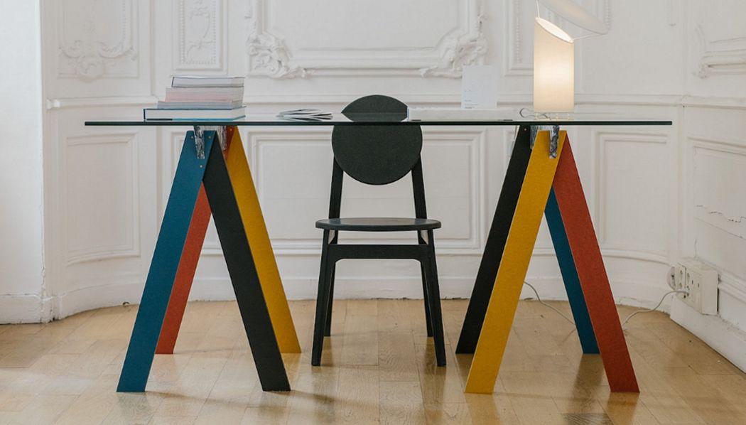 RINKU Table bureau Bureaux et Tables Bureau  |