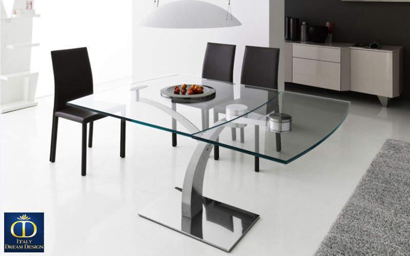 Table rabattable cuisine paris table de salle a manger carre - Table carre salle a manger ...