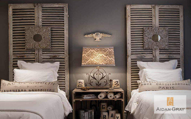 Aidan Gray Home Chambre Chambres à coucher Lit Chambre | Charme