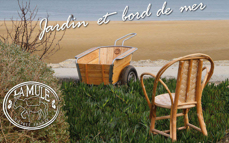 La MULE Brouette de jardin Jardinage Extérieur Divers Jardin-Piscine | Charme