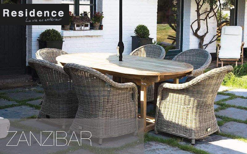 RESIDENCE Salon de jardin Salons complets Jardin Mobilier Terrasse | Charme
