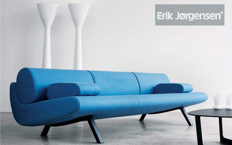 Erik Jørgensen Siège d'accueil Sièges de bureau Bureau Lieu de travail | Design