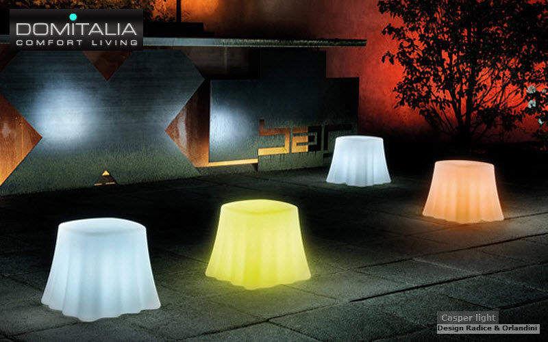 Domitalia Table d'appoint de jardin Tables de jardin Jardin Mobilier Terrasse |
