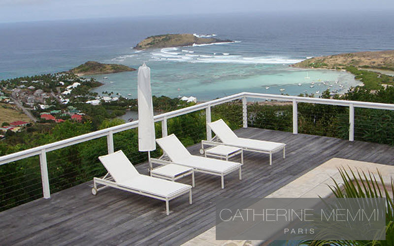 Catherine Memmi Bain de soleil Chaises longues Jardin Mobilier Terrasse | Design Contemporain