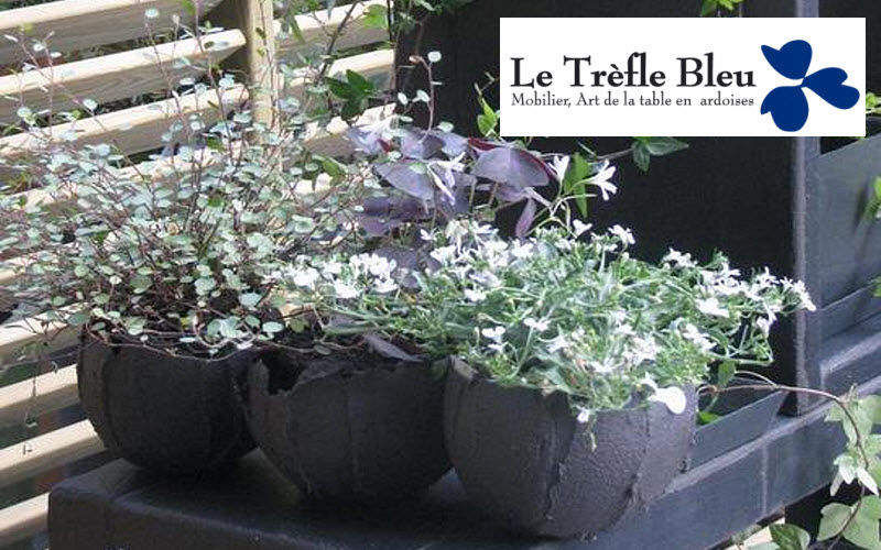 Le Trefle Bleu Pot de fleur Pots de jardin Jardin Bacs Pots  |
