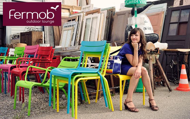 Fermob Chaise de jardin empilable Chaises de jardin Jardin Mobilier  |