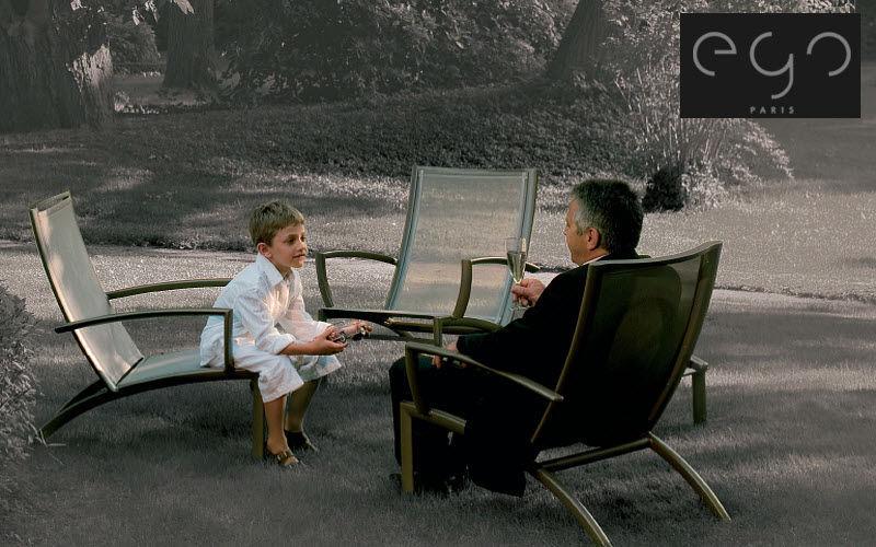 EGO Paris Chaise longue de jardin Chaises longues Jardin Mobilier  |