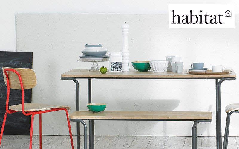 Habitat Table de cuisine Meubles de cuisine Cuisine Equipement Cuisine | Design Contemporain