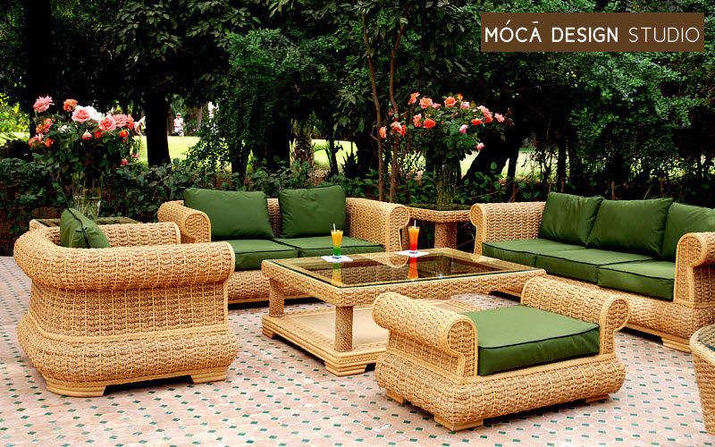 Moca Design Studio Salon de jardin Salons complets Jardin Mobilier Terrasse | Bord de mer