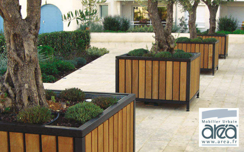 Area Bac d'orangerie Bacs Jardin Bacs Pots Espace urbain | Design Contemporain