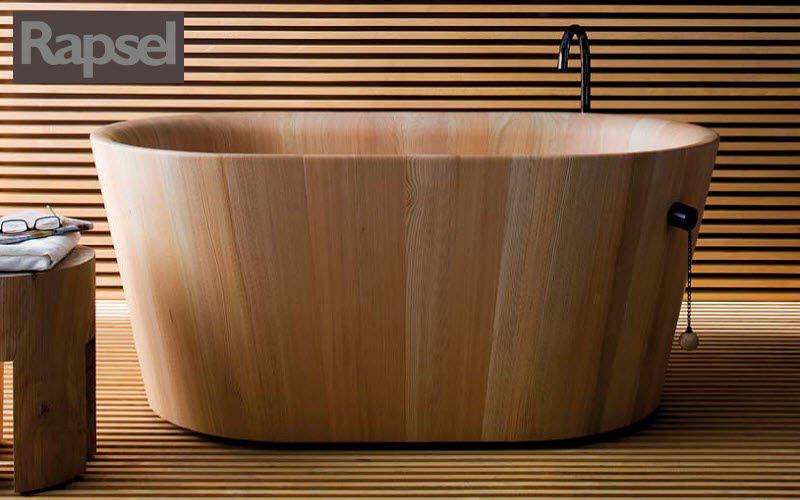 RAPSEL Baignoire Ilot Baignoires Bain Sanitaires Salle de bains   Décalé