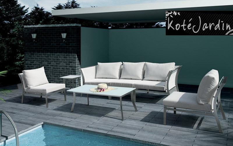 KOTE JARDIN Salon de jardin Salons complets Jardin Mobilier  |