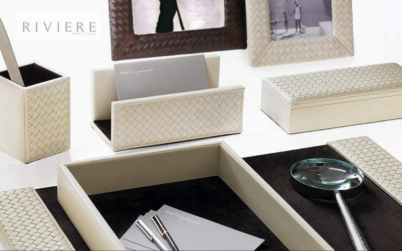 RIVIERE Set de bureau Fournitures de bureau Papeterie Accessoires de bureau Bureau | Design Contemporain