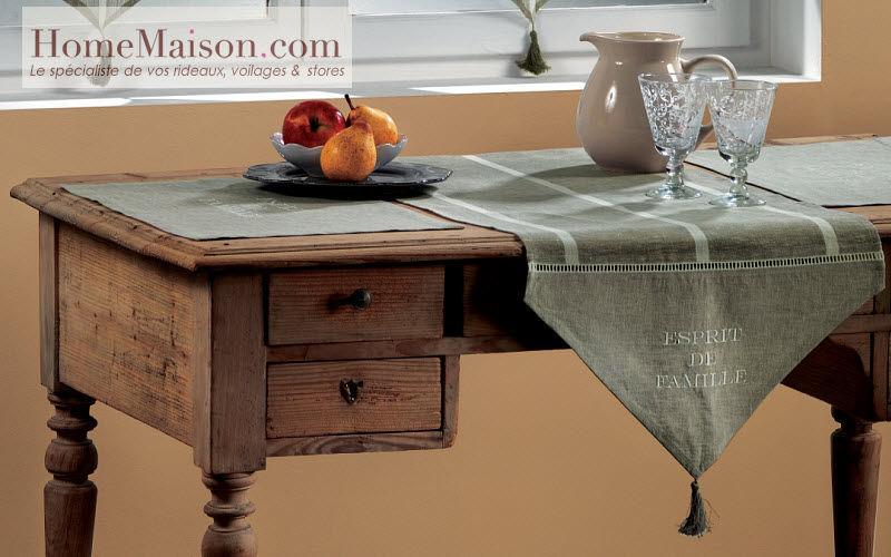 HOMEMAISON.COM Chemin de table Nappes Linge de Table Bureau | Charme