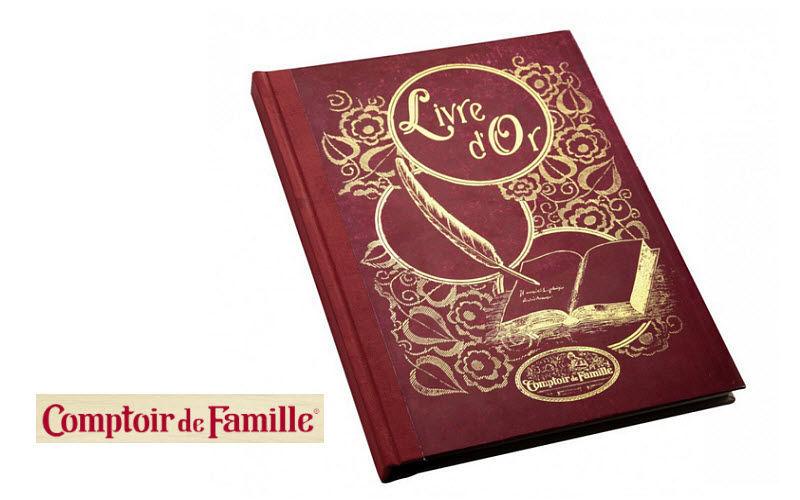 Comptoir De Famille Livre d'or Papeterie Ecriture Papeterie Accessoires de bureau  |