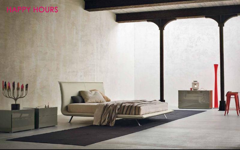 HAPPY HOURS Lit double Lits doubles Lit Chambre | Design Contemporain