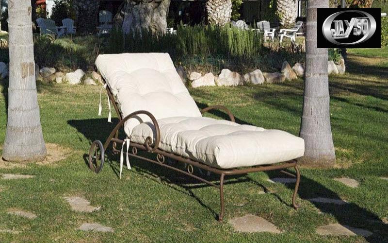 Jayso Chaise longue de jardin Chaises longues Jardin Mobilier Terrasse | Charme