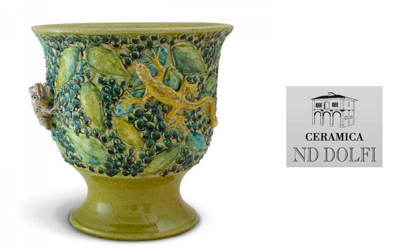 Ceramica Nd Dolfi Cache-pot Pots de jardin Jardin Bacs Pots   