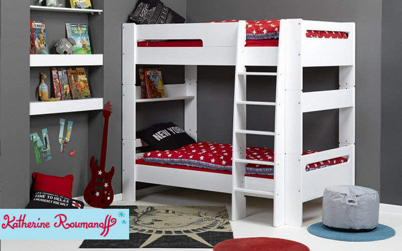 Lits superpos s enfants chambres enfant decofinder for Decoration chambre katherine roumanoff