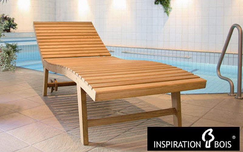 Inspiration Bois Bain de soleil Chaises longues Jardin Mobilier  |