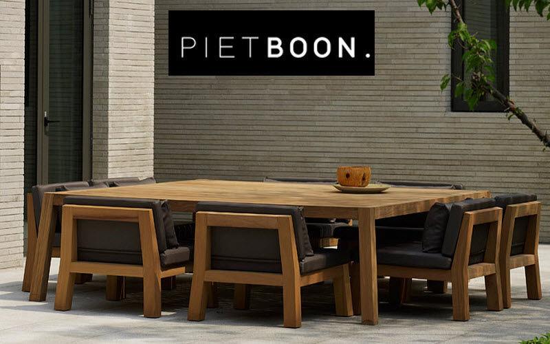PIETBOON Salle à manger de jardin Tables de jardin Jardin Mobilier Terrasse | Design Contemporain
