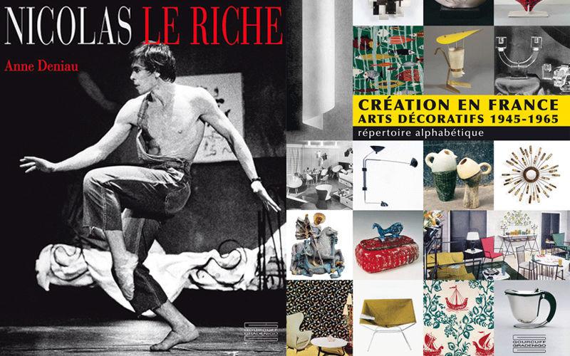EDITIONS GOURCUFF GRADENIGO Livre Beaux-arts Livres & Magazines En marge de la Déco Entrée | Design Contemporain