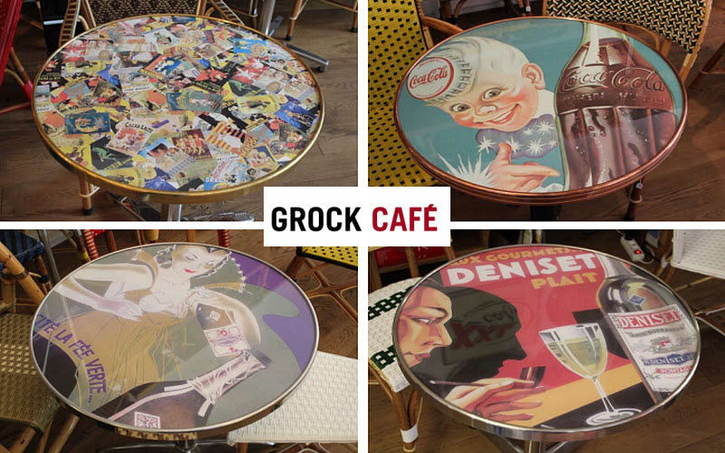 GROCK CAFE Plateau de table bistrot Tables de repas Tables & divers  |