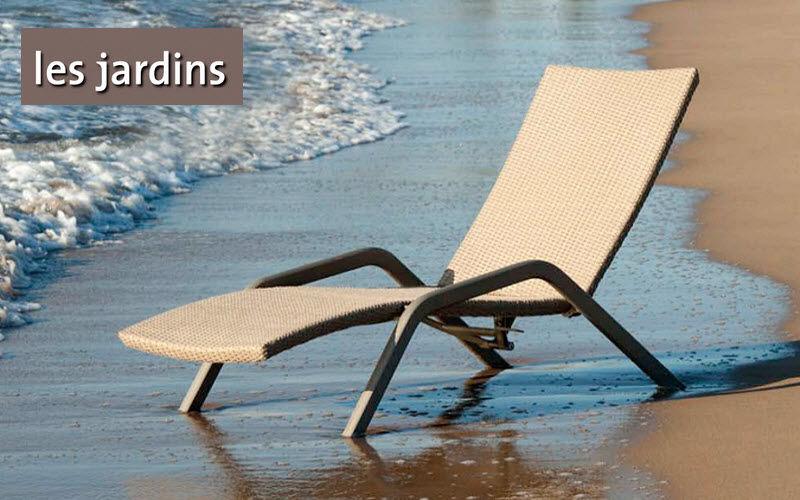 Les Jardins Chaise longue de jardin Chaises longues Jardin Mobilier  |