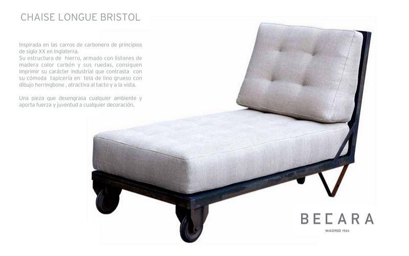 BECARA Chaise longue Méridiennes Sièges & Canapés  | Design Contemporain