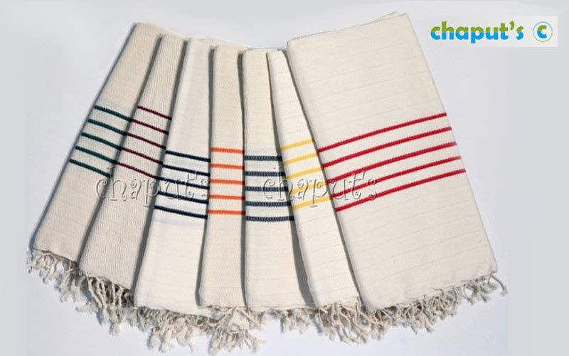 CHAPUT'S Fouta serviette de hammam Linge de toilette Linge de Maison  |
