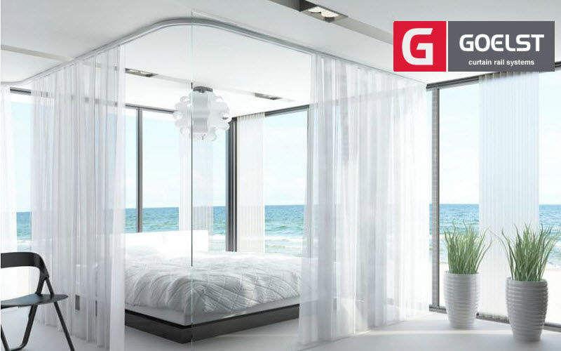 Goelst Rail de rideaux Tringles et accessoires Tissus Rideaux Passementerie Chambre | Bord de mer