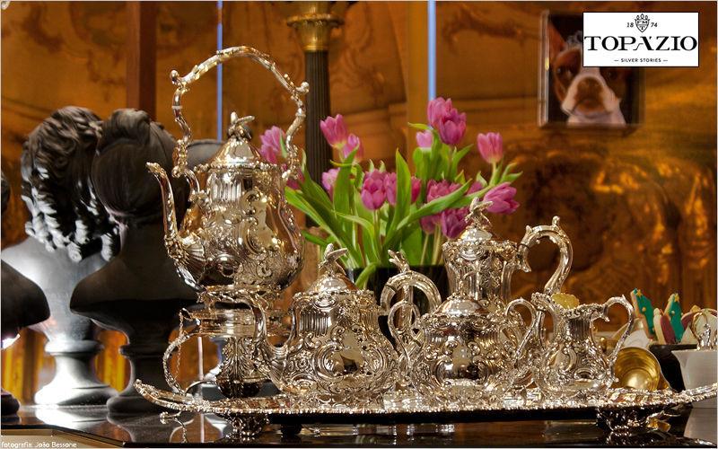 Topazio Service à thé Services de table Vaisselle Salon-Bar | Classique