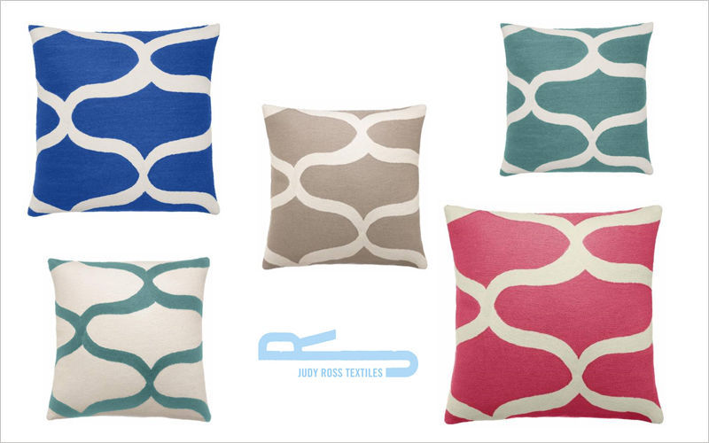 Judy Ross Textiles Coussin carré Coussins Oreillers Linge de Maison  |