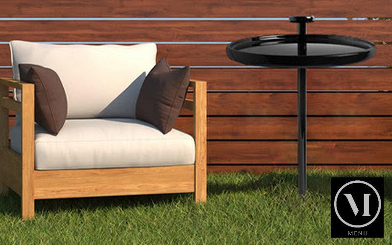 MENU Table d'appoint de jardin Tables de jardin Jardin Mobilier  |