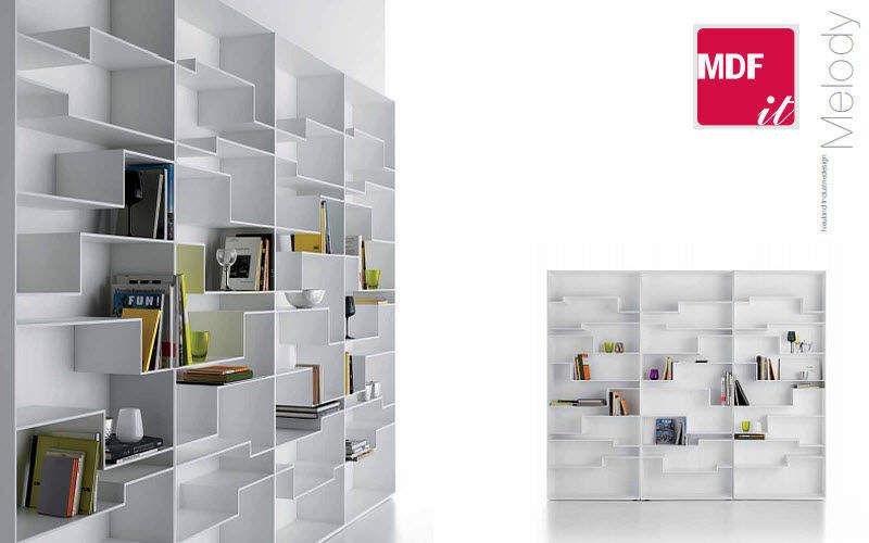 MDF Italia Bibliothèque ouverte Bibliothèques Rangements   