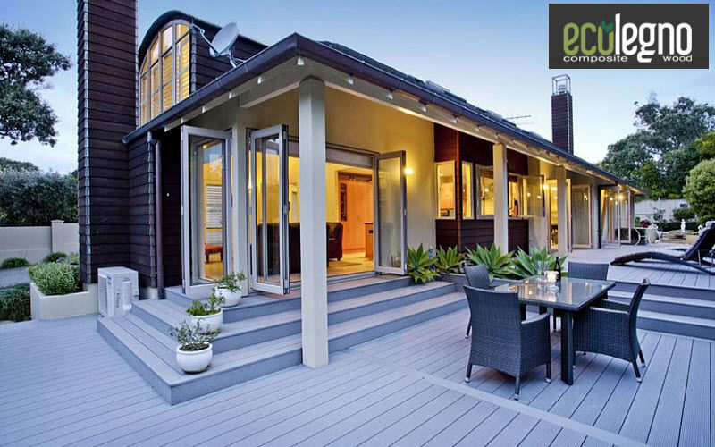 ECOLEGNO Plancher de terrasse Sols extérieurs Sols  |