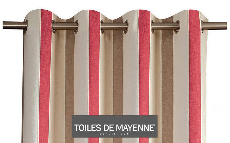 Toiles De Mayenne Rideaux prêts à poser Rideaux Tissus Rideaux Passementerie  |
