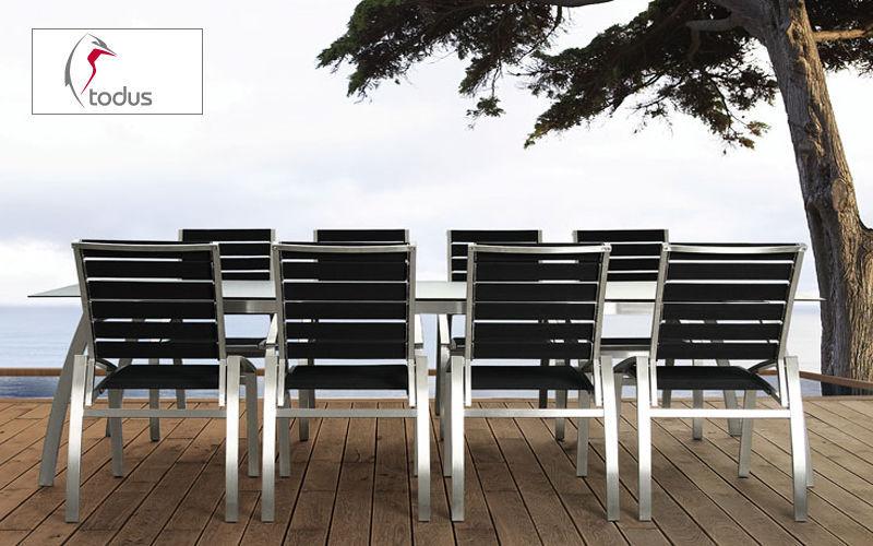 TODUS Chaise de jardin Chaises de jardin Jardin Mobilier  |