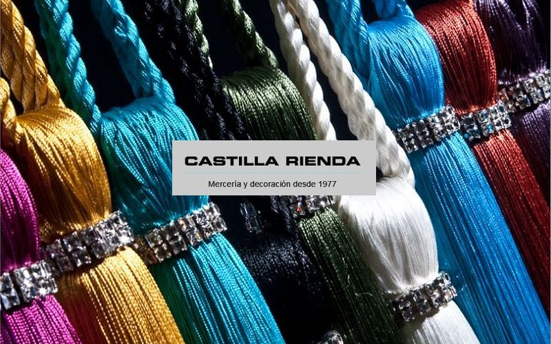 CASTILLA RIENDA Embrasse Embrasses Tissus Rideaux Passementerie  |
