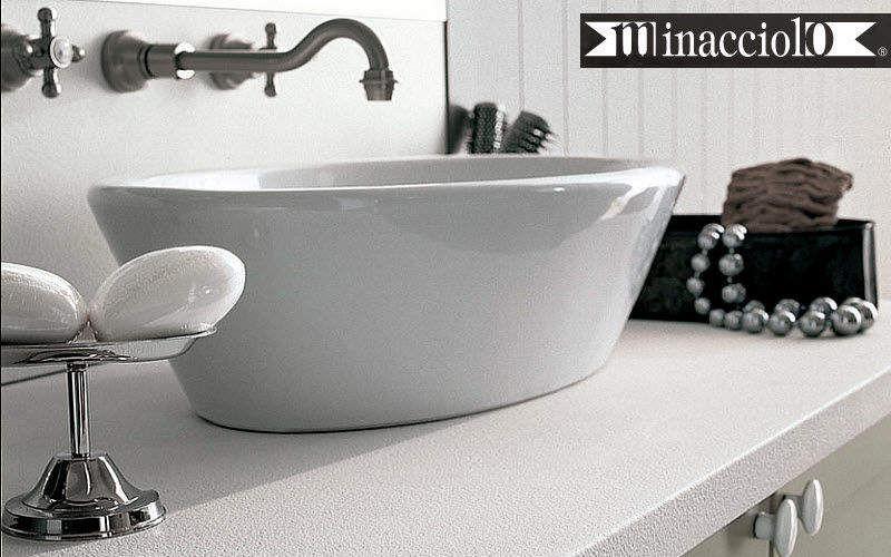 MINACCIOLO Vasque à poser Vasques et lavabos Bain Sanitaires  |