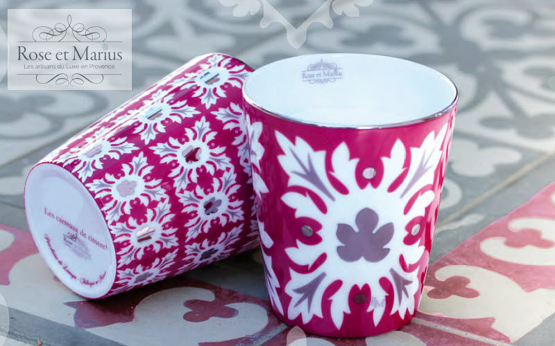 ROSE ET MARIUS Bougie parfumée Bougies Bougeoirs Objets décoratifs  |