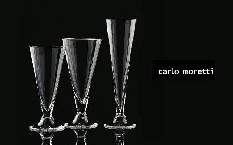 Carlo Moretti Flûte à champagne Verres Verrerie  |