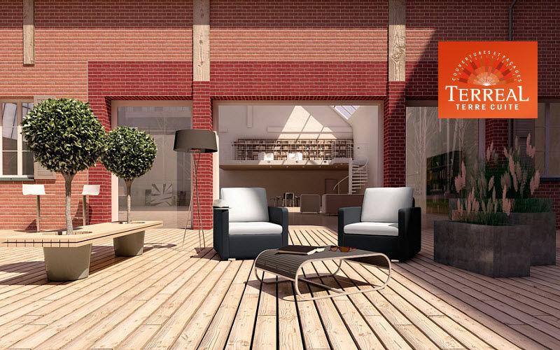 Terreal Brique de parement Parement Murs & Plafonds   