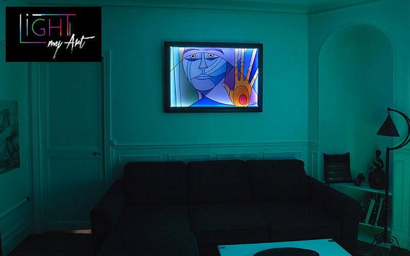 LIGHT MY ART Tableau lumineux Divers Objets décoratifs Objets décoratifs  |