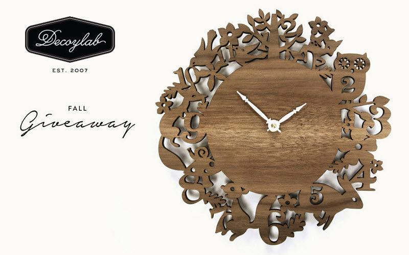 DECOYLAB Horloge murale Horloges Pendules Réveils Objets décoratifs  |
