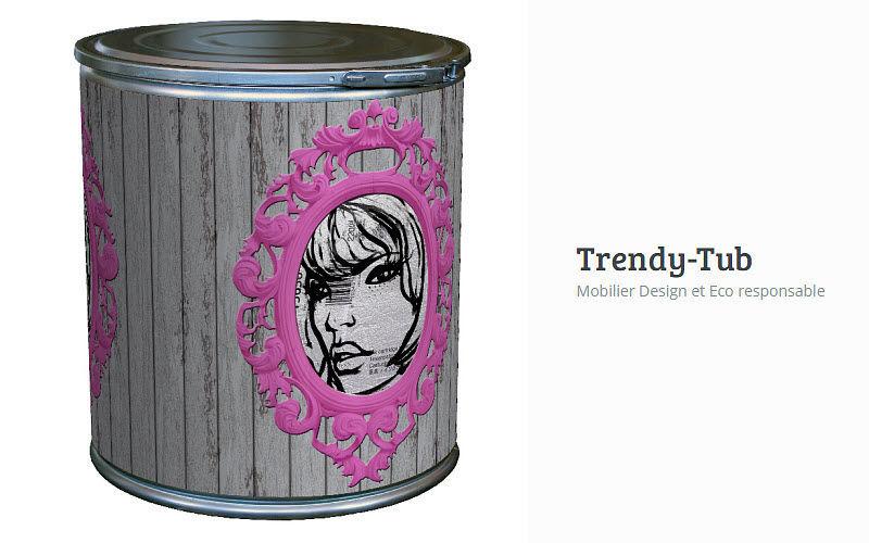 TRENDY TUB Pouf coffre Tabourets et poufs Sièges & Canapés  |