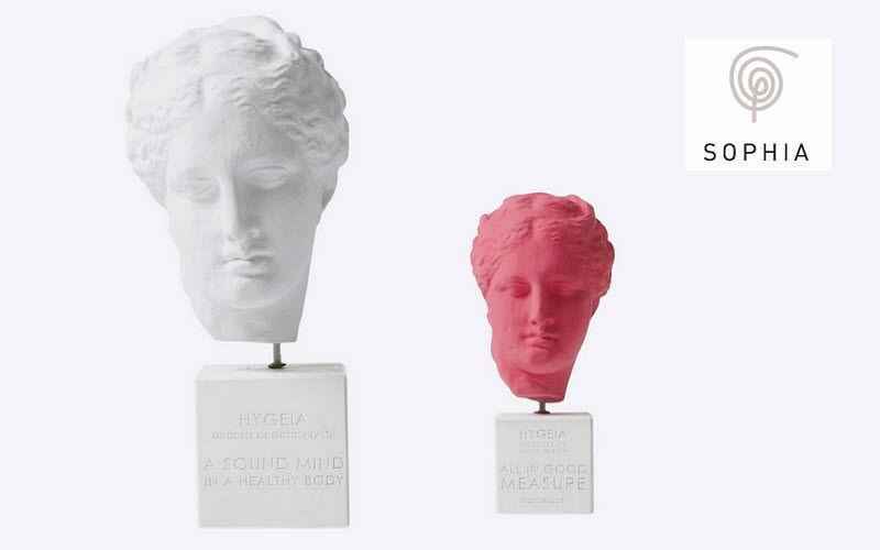 SOPHIA Tête humaine Sculptures Statuaires Art  |