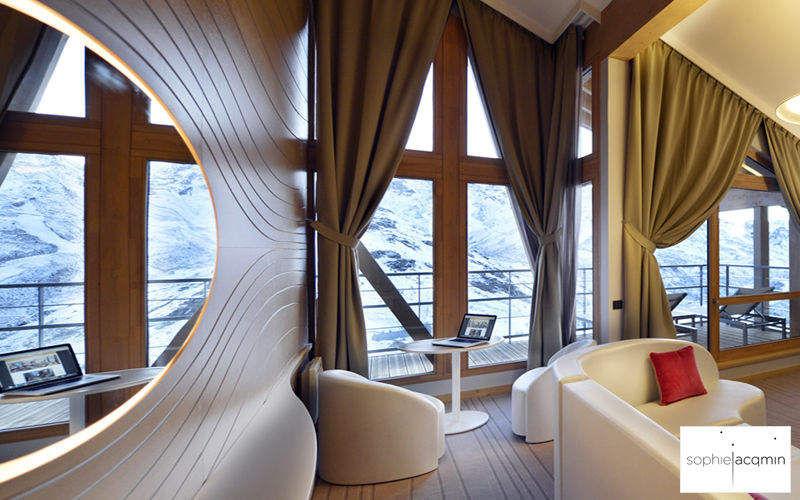 SOPHIE JACQMIN Réalisation d'architecte d'intérieur - Chambre à coucher Divers Mobilier Lit Lit Chambre | Contemporain