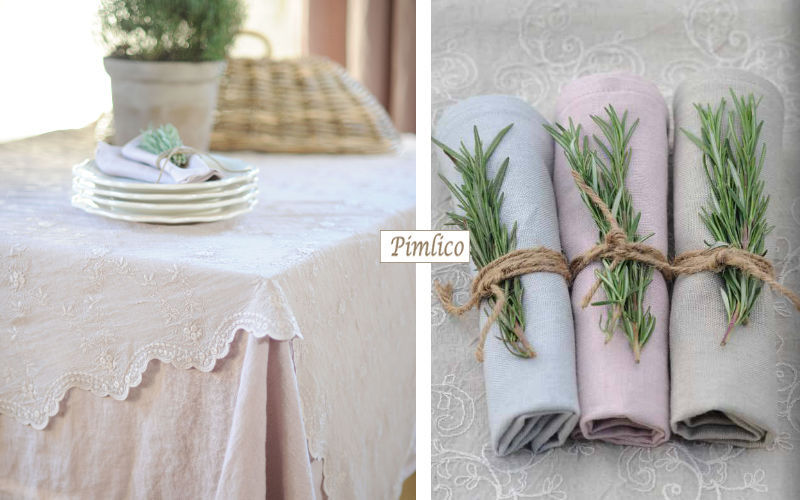PIMLICO Serviette de table Serviettes Linge de Table  |